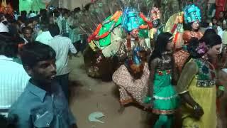 Dance Progam at Sri Pallalamma Ammavari Jatara in Rachuru