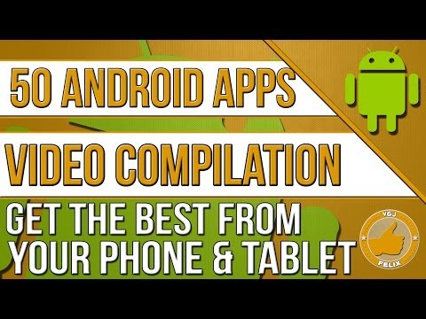 50 Android App Reviews (Asus Transformer Prime, New Nexus 7 2013, Samsung Galaxy S4)