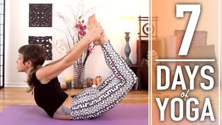 Yoga For Weight Loss - 30 Minute Fat Burning, Total Body Workout. 4 of 7