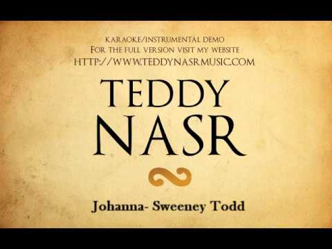 Instrumental / Karaoke - Johanna / Sweeney Todd ( Teddy NASR )