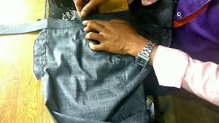 Gent's pant full stitching video in Hindi ,(DIY) part-2 /with pocket cutting and sewing,