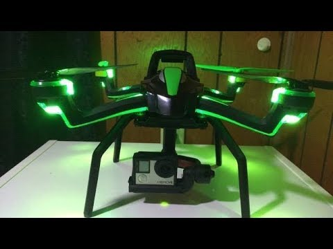 Traxxas Monster Aton Gimbal fully loaded GPS Quadcopter