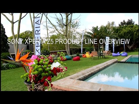 Sony Xperia IFA Product Line Overview 2015
