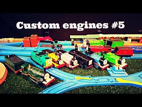 The customs of ucwepn #5, Eleven custom Thomas and Friends engines featured
