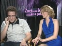 SETH ROGEN ELIZABETH BANKS INTERVIEWS ZACK AND MIRI