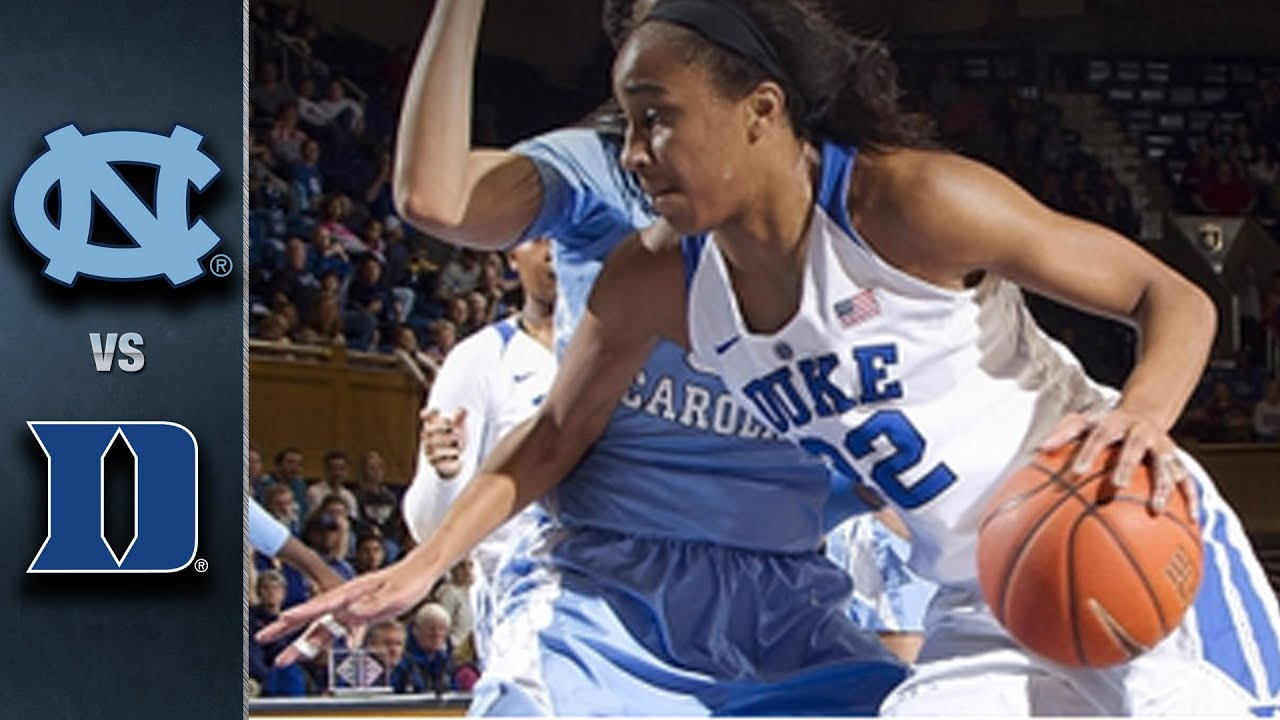 North Carolina vs. Duke Women's Basketball Highlights ...