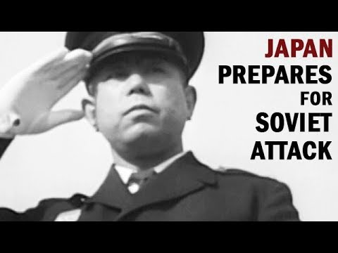 Japan Prepares for Soviet Attack | Cold War Era Documentary | 1954