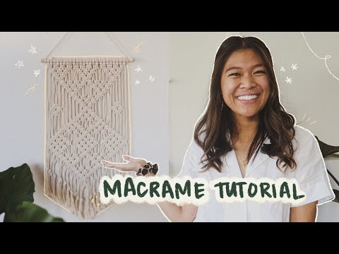 my-first-macrame-project-|-easy-diy-macrame-wall-hanging-✨