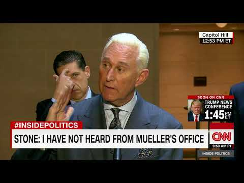 Roger Stone: No Trump collusion with Russia