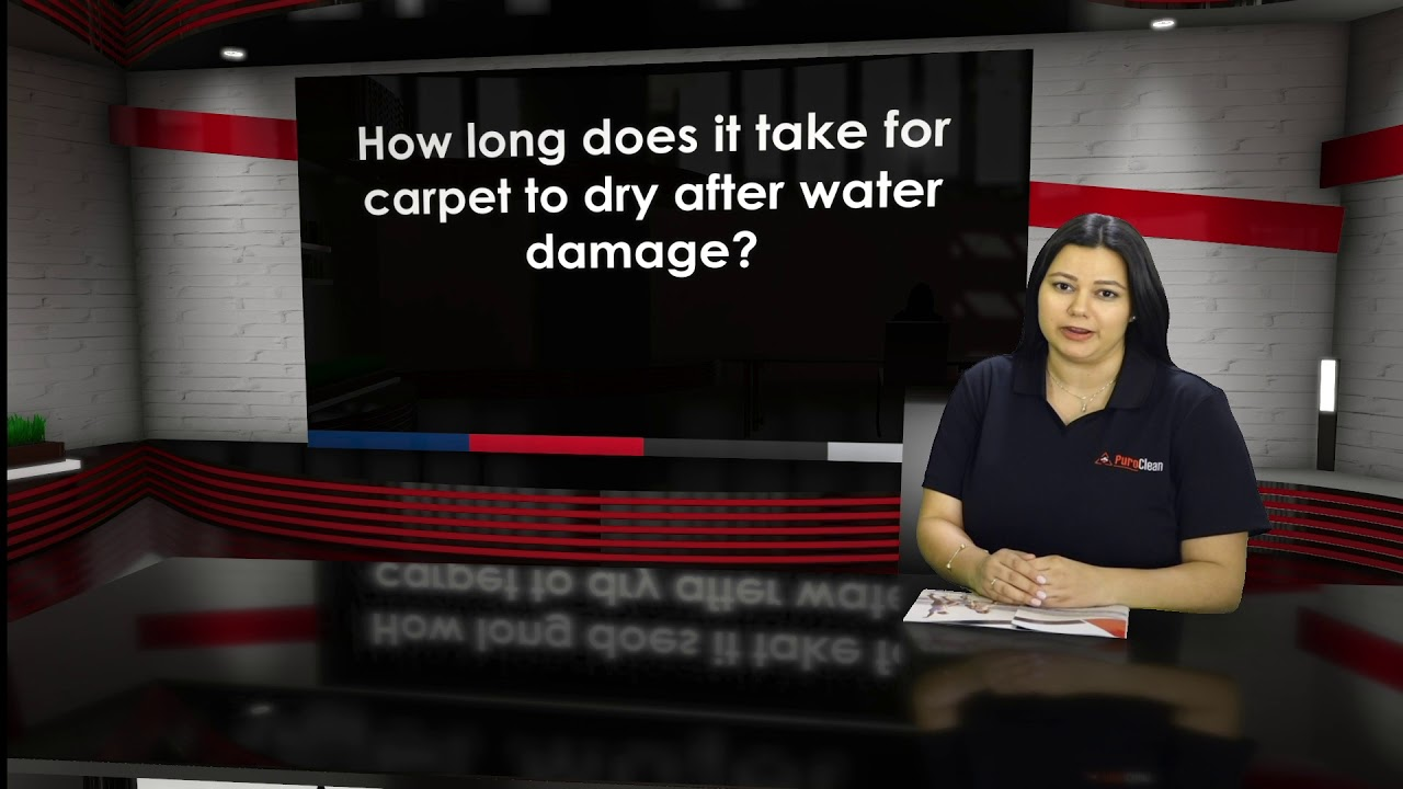 How long does it take for carpet to dry after water damage ...