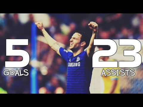 Cesc Fabregas ● 5 Goals & 23 Assists ● King of Assists™ - Season 2014/15