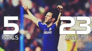 Cesc Fabregas ● 5 Goals & 23 Assists ● King of Assists™ - Season 2014/15
