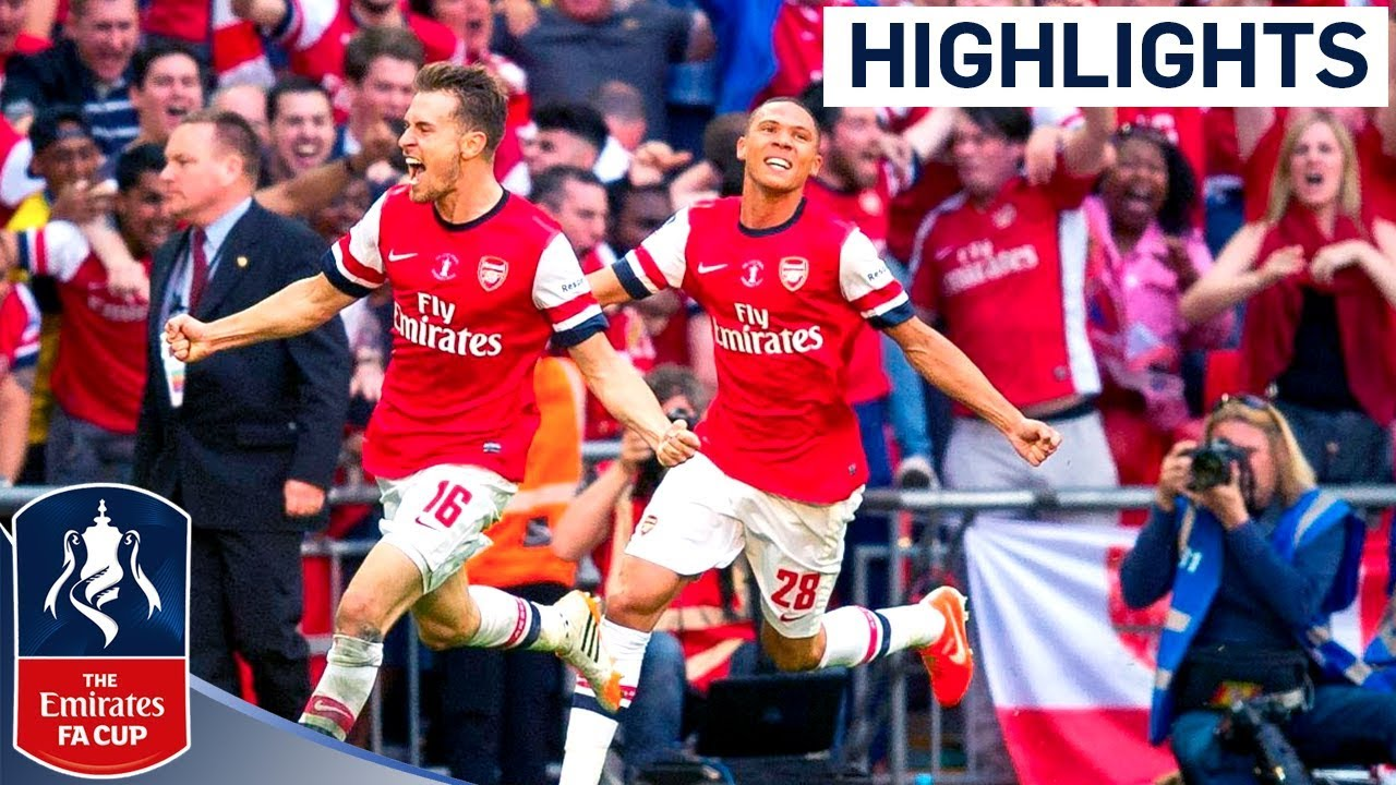 Ramsey Goal - FA Cup Final | Goals & Highlights