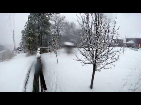 Winter Storm Remus - Huntsville, AL Snow Timelapse (Feb 25, 2015)