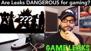 Are leaks BAD for the gaming community? (NO SPOILERS) | Ro2R