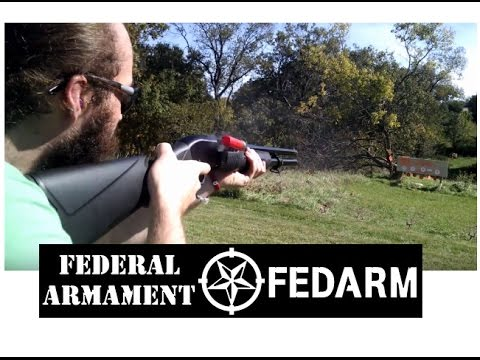 Fedarm FRN Pump Action 12 Guage: Budget Home Defense/Tactical Shotgun
