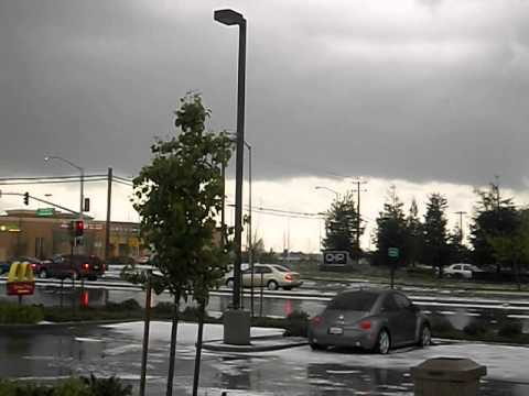 Friday's wacky weather in Atwater, CA