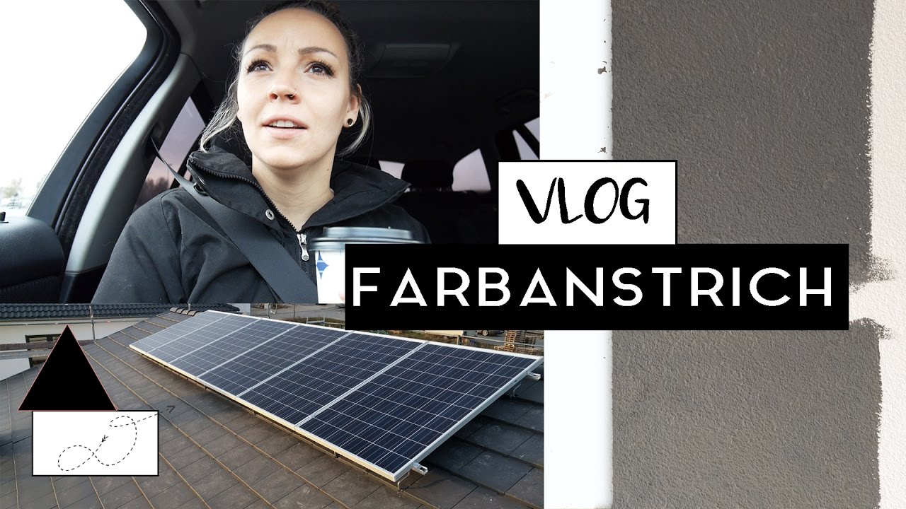 bauvlog 14 welche farbe f r 39 s haus frau la youtube. Black Bedroom Furniture Sets. Home Design Ideas