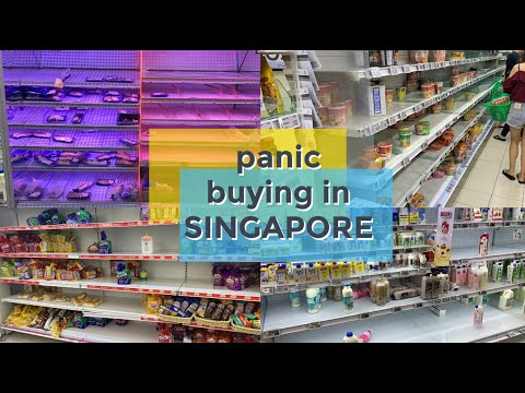 Coronavirus: Singapore Panic Buying after Code Orange Announcement