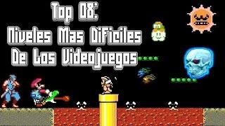 Top 08: Niveles Más Dificiles de los Videojuegos - Pepe el Mago