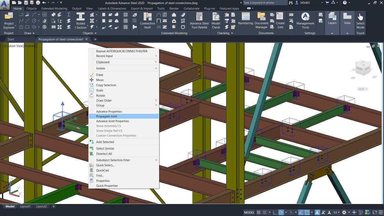 Autodesk advance steel 2020