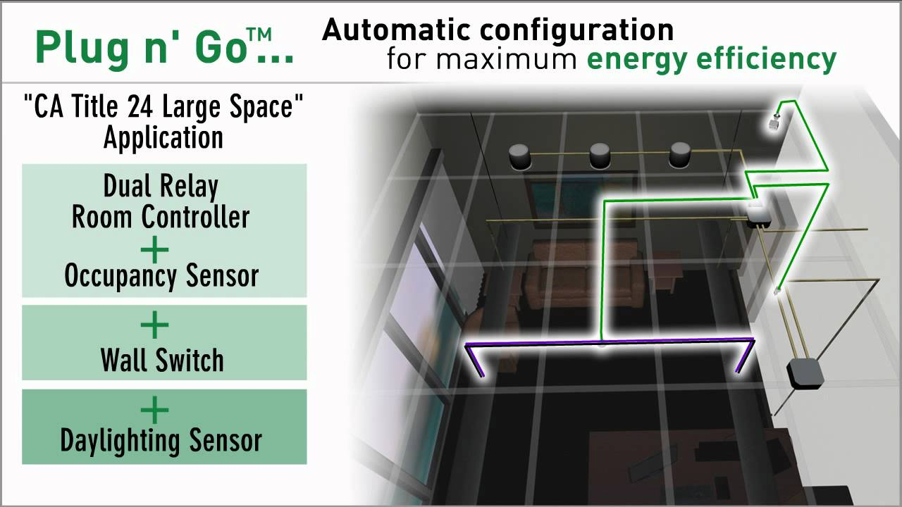 wattstopper digital lighting management plug n go technology [ 1280 x 720 Pixel ]