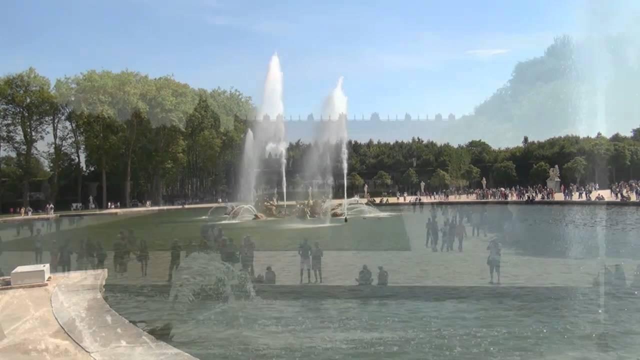 Wasserspiele Von Schloß Versailles