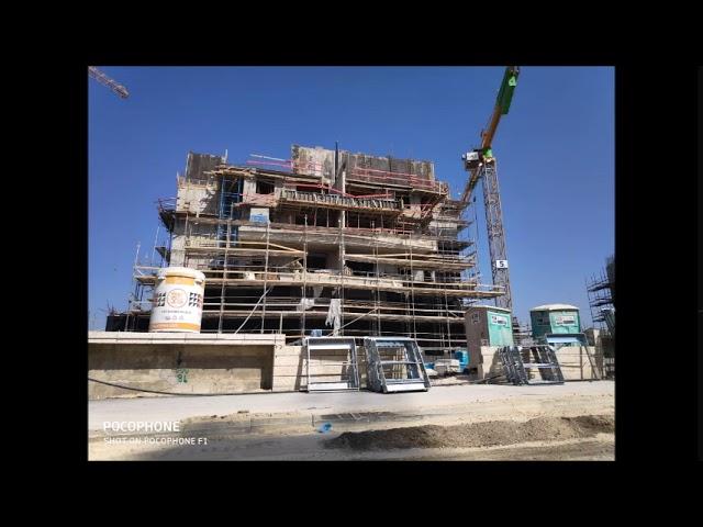 שערי בית שמש, ד2, הבניה מתקדמת