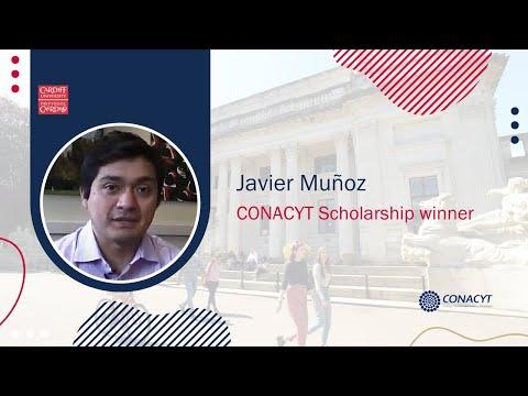 Javier Muñoz: CONACYT Scholarship winner