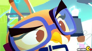 Angry Birds Stella -  New Golden Map Dahlia Chemistry Set Walkthrough Part 27