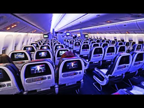 American Airlines 777-200 & A321 ECONOMY CLASS London - New York - SFO | Economy Week