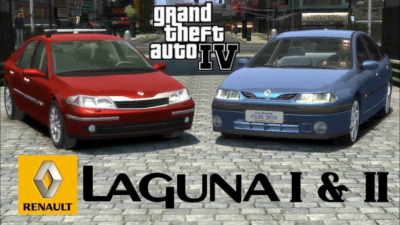 renault laguna i ii gta iv download link youtube. Black Bedroom Furniture Sets. Home Design Ideas