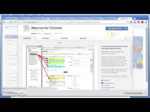 İmacros Chrome Kurulum & Sanalİstasyon | Waooz com