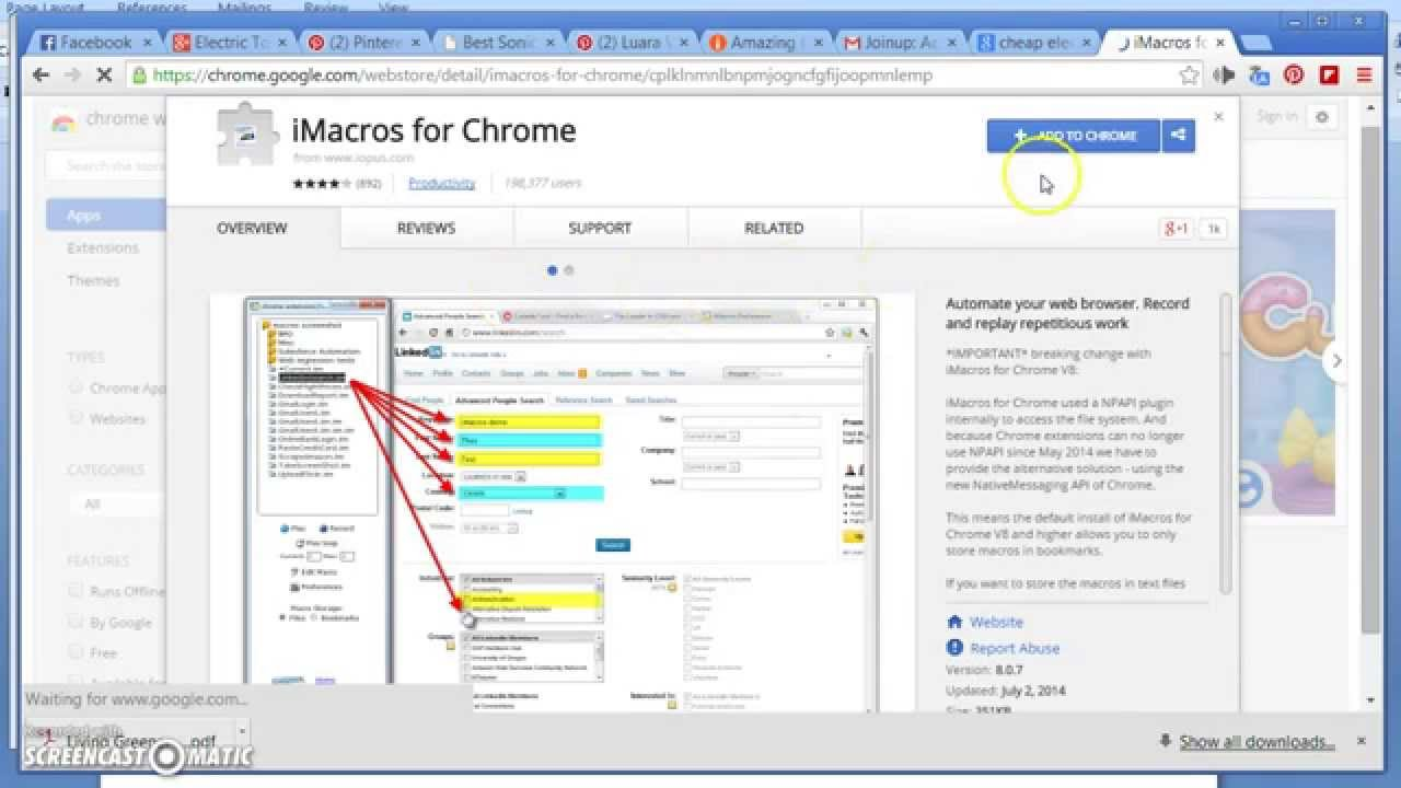 imacros chrome