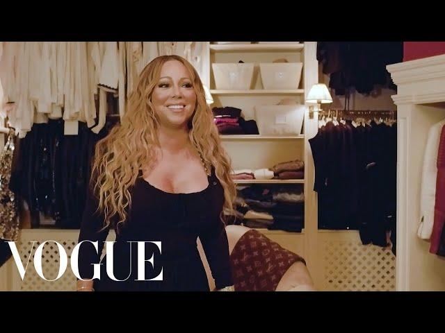 Mariah Carey: The Diva Takes Us Inside Her Closet   Vogue