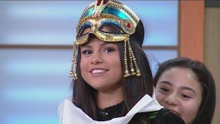 ¡De película! Selena Gómez se dejó disfrazar como una momia
