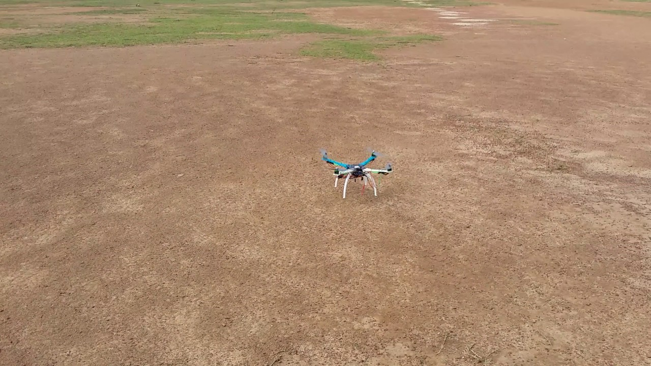 Quadcopter testing