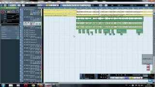Сведение и обработка звука в программе Cubase 5(урок 1)