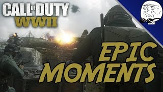 Call of Duty WWII Epic Moments #2: Ultra Flamethrower! (COD WW2 Montage)