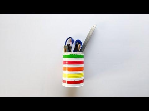 DIY Pen Stand   DIY Pen Stand Ideas   Dinesh Arts