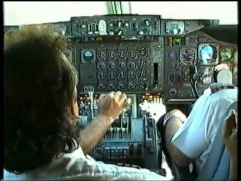Olympic airways Boeing-747 landing May 1999
