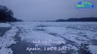 Led na Dunavu - Apatin, 18.01.2017.