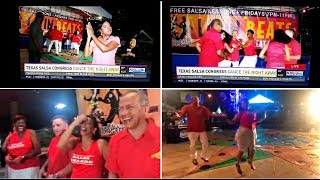 SALSA GRANDE: Rueda TV Clips & Extra Behind the Scenes Footage (CBS/KHOU-Channel 11 on 7/20/17)