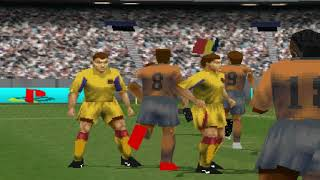 Golaços no Winning Eleven 2002 -  PS1 - 2019 #1
