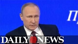 Vladimir Putin signs law decriminalizing domestic violence in Russia