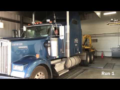 PITTSBURGH POWER   TAYLOR CLASS 8 TRUCK CHASSIS DYNO TEST & TUNE