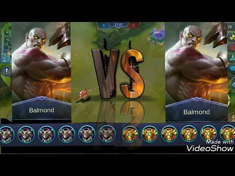 Balmond Full ARMOR Vs Balmond Full HP(Mobile Legends