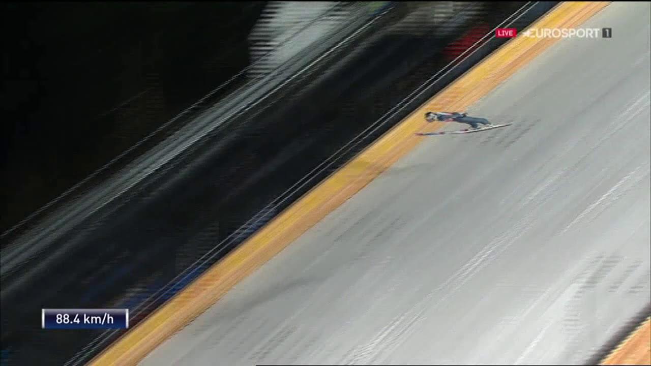 Oberstdorf 2019  Q Taku Takeuchi 130 m Fall