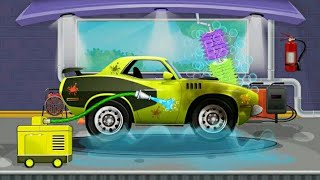 Car wash Game For Kids_Volvo Car-Yovo Games Games For Kids _Kids Games