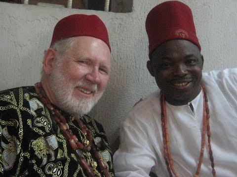 Igbo Chiefs Bert and Barbara
